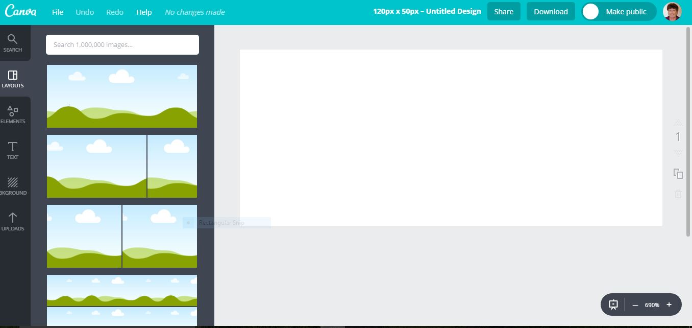Canva Design Screen