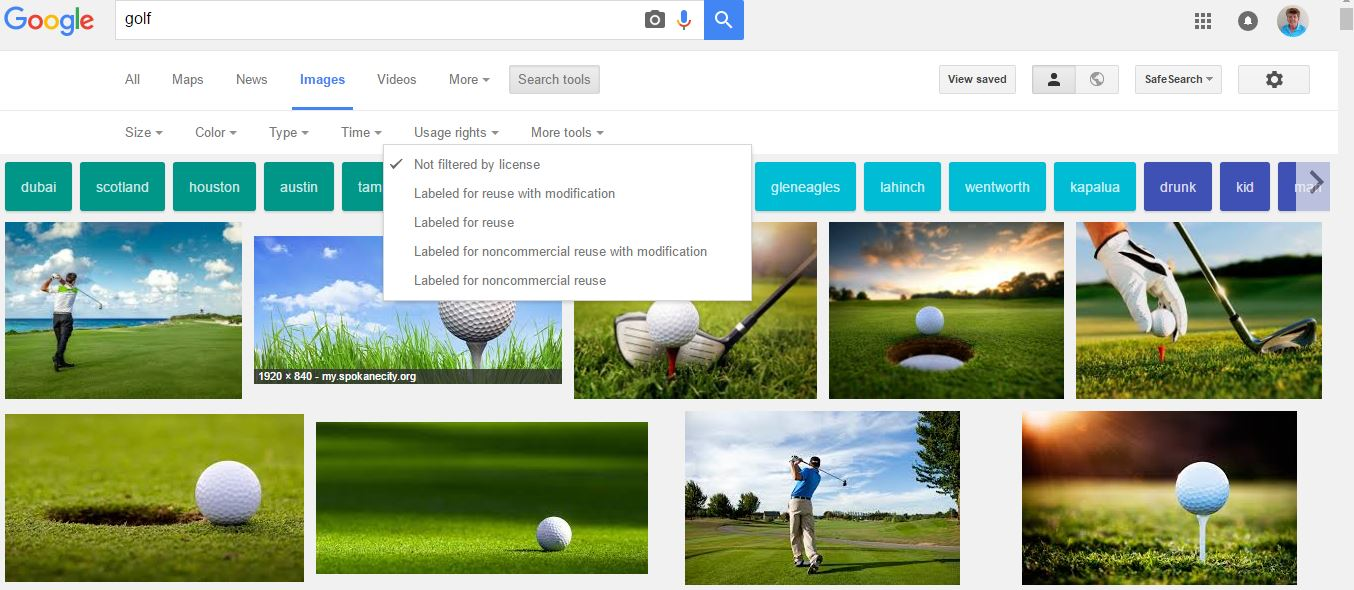 Google Images - Golf