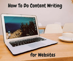 Writing for websites