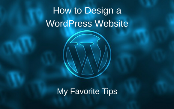 How to Design a WordPress Website Featured Image