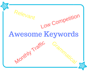 Awesome Keyword Attributes