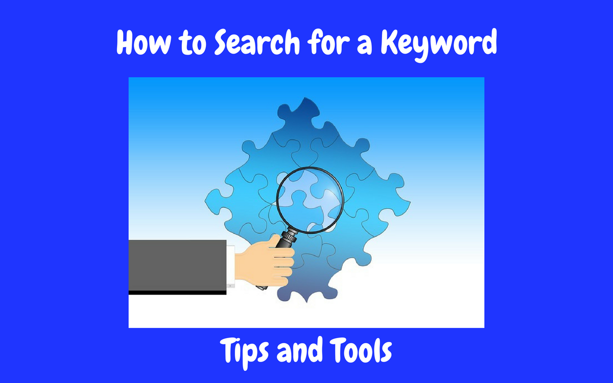 How to Search for a Keyword Featured Image