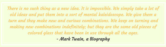 Mark Twain Quotation on Ideas