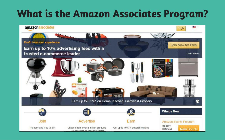 What is the Amazon Associates Program