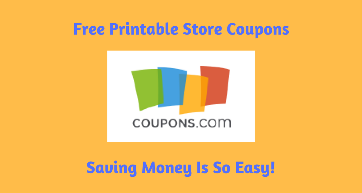 Free Printable Store Coupons