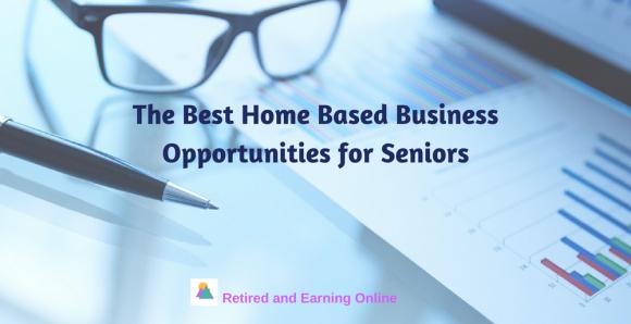 Home Based Business Opportunities for Seniors
