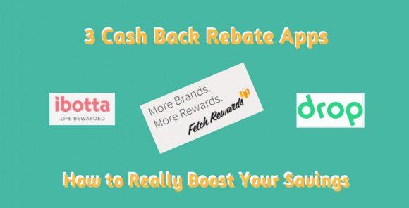 Cash Back Rebate Apps