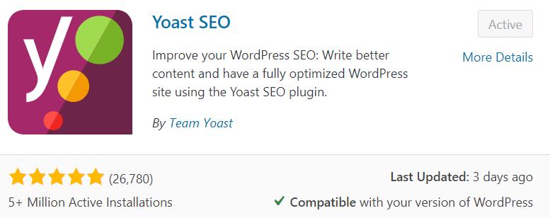 The Yoast SEO Plugin for WordPress