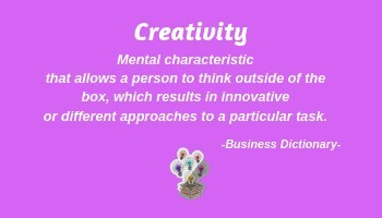 Definition of Creativity