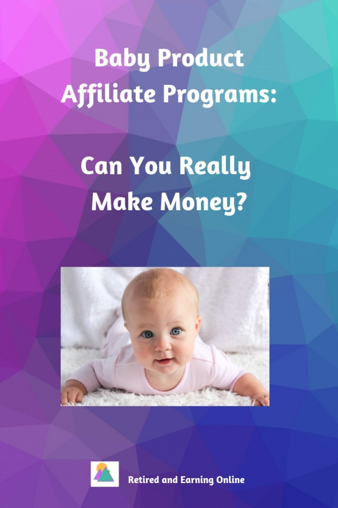 Pinterest Graphic - Baby Product Affiliate Programs