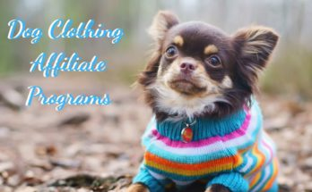 Dog Clothing Affiliate Programs