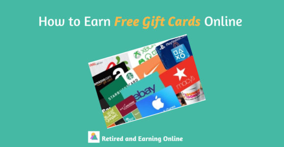 How to Earn Free Gift Cards Online