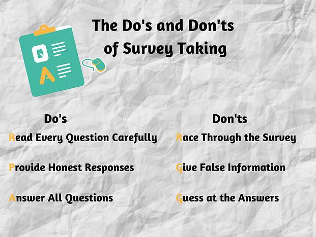 Inbox Dollars Survey Do's and Don'ts