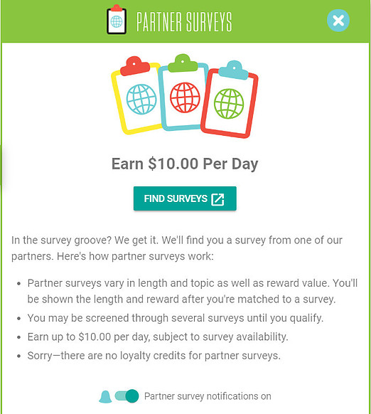 Frthright Partner Surveys