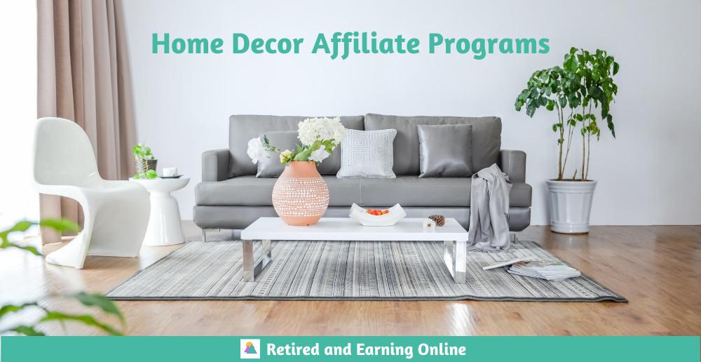 Home Decor Affiliate Programs